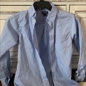 Size 14 blue boys chaps dress shirt